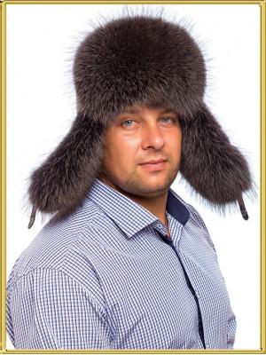 """Мужская ушанка из енота """"Егерь-2"""""""