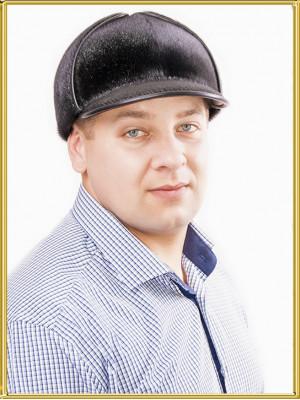 Меховая шапка из нерпы Шерлок
