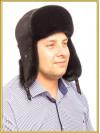 Мужская норковая шапка Алмаз