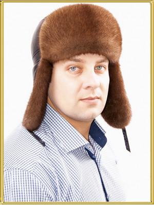 Зимний пилот меховой Браво
