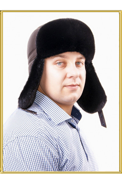 Шапка ушанка пилот Натан