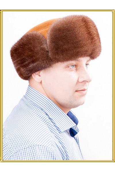 """Шапка боярка меховая """"Орех"""""""