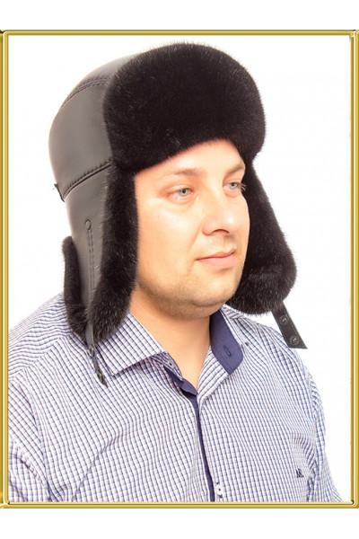 Зимняя шапка пилот Норман