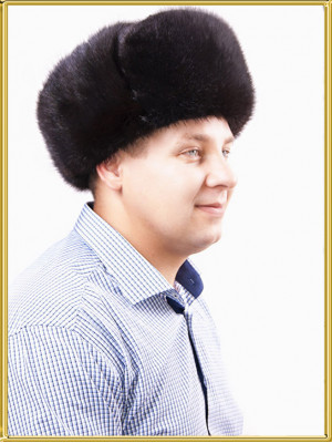 Шапка ушанка мужская Алтай