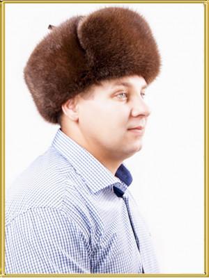 "Ондатровая шапка мужская ""Таурас"""