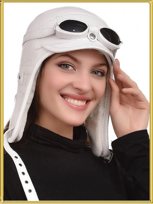 "Шапка летчика с очками ""Дарья-2"""