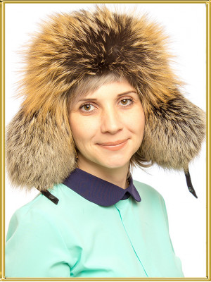 """Зимушка из лисы """"Юля"""""""
