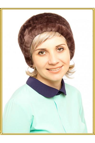 """Шапка из овчины """"Мария-3"""""""