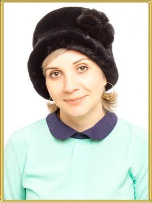"""Капор из мутона """"Ольга"""""""
