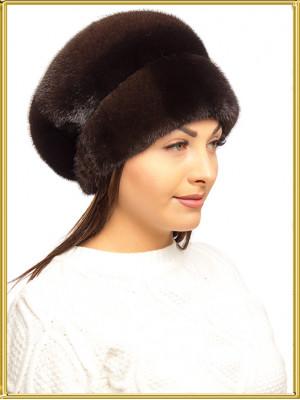 "Норковая шапка ""Амелия-2"""