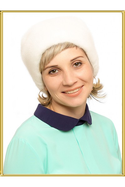 "Норковая шапка "" Хлоя"""
