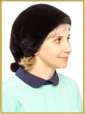 "Норковая шапка ""Косынка"""