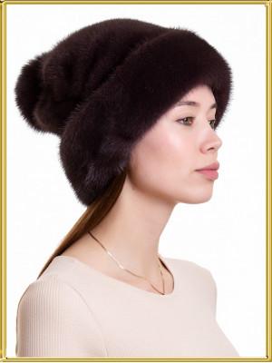 """Норковая шапка """"Лиза-3"""""""