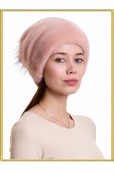 """Норковая шапка """"Лыжница"""""""