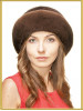 """Шляпа меховая женская """"Стелла"""""""
