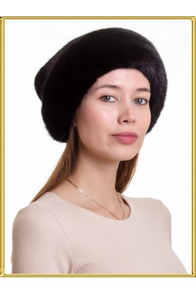 """Норковая шапка женская """"Власа-3"""""""