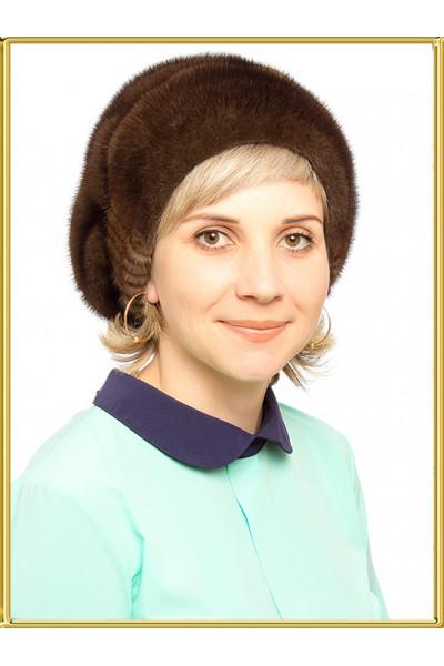 """Норковая шапка """"Зара"""""""
