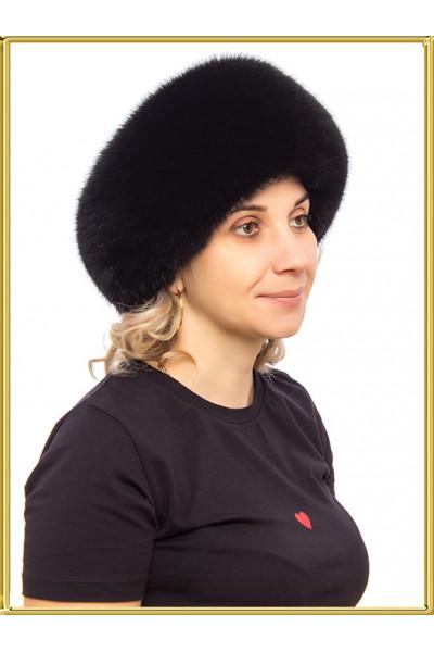 """Шапка из песца женская """"Кармен-2"""""""