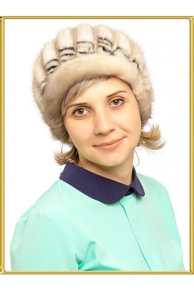 "Шапки из вязаной норки ""Венди-2"""